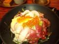 今日のランチスペシャル海鮮丼