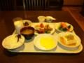 朝食バイキングにタコ焼きがw