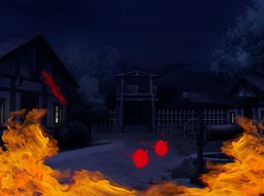 LANCASTER《ランカスター》:ダークファンタジーな異世界にて燃え盛る村