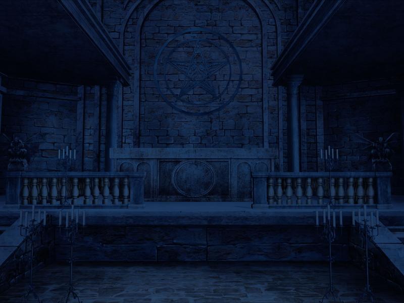 中世ダークファンタジー剣戟譚『LANCASTER《ランカスター》』:礼拝堂