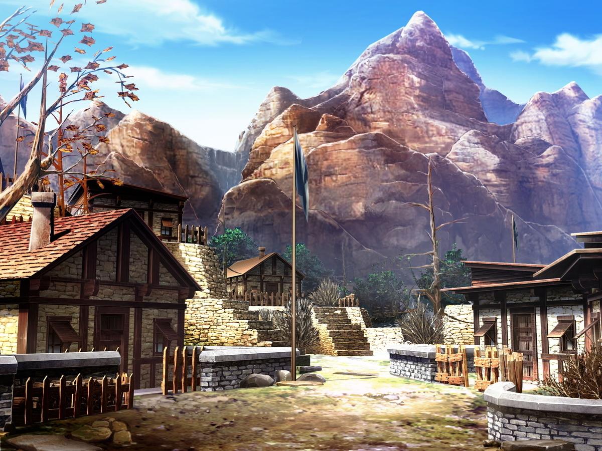 中世ダークファンタジー剣戟譚『LANCASTER《ランカスター》』:ディーンの村