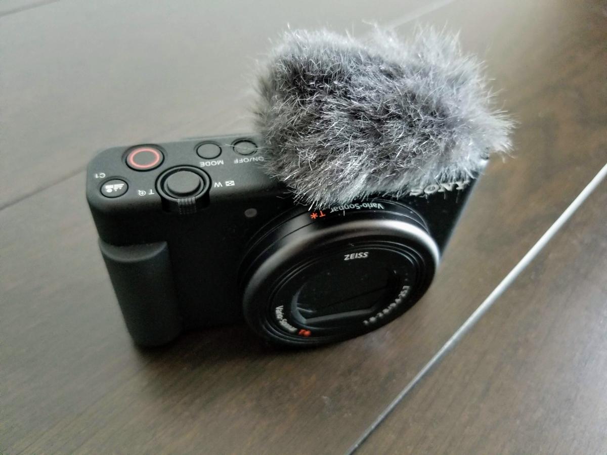 SONY VLOGCAM ZV-1 レビュー:メリット⑥ 外でもクリアに録音できる