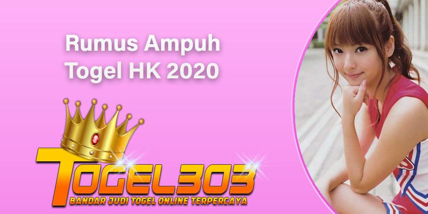 Rumus Ampuh Togel HK 2020