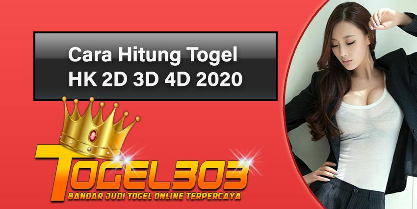 Cara Hitung Togel HK 2D 3D 4D