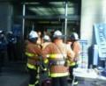 三宮ドトールのある建物で火事