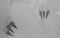 描いている絵の部分 ペンの両爪
