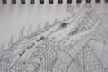 描いている途中の絵の部分