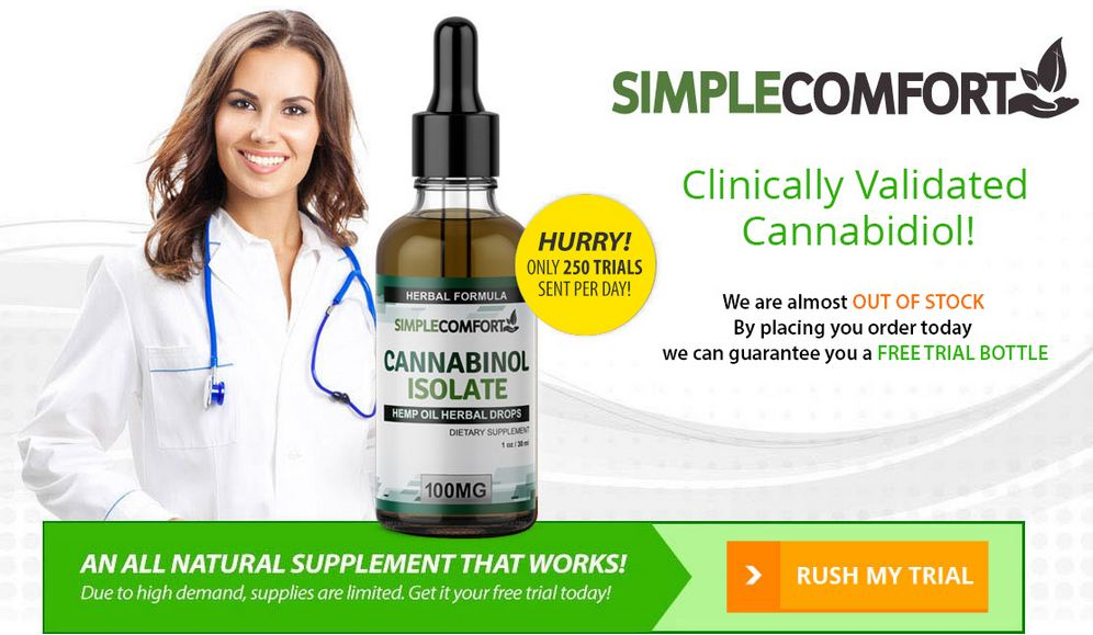 Simple Comfort Cbd Oil Reviews: Pain Relief Product
