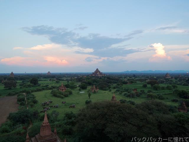 20161016115318 - ミャンマーバガン遺跡の仏塔・寺院でサンライズ&サンセット観光!