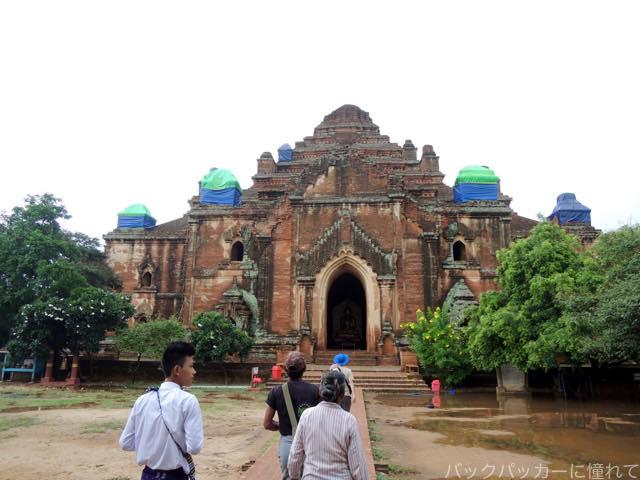 20161016115545 - ミャンマーバガン遺跡の仏塔・寺院でサンライズ&サンセット観光!