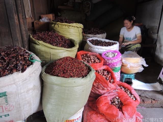 20161019034243 - 【バガン】ニャウンウーの市場散策で甘いみかんと辛いソムタム