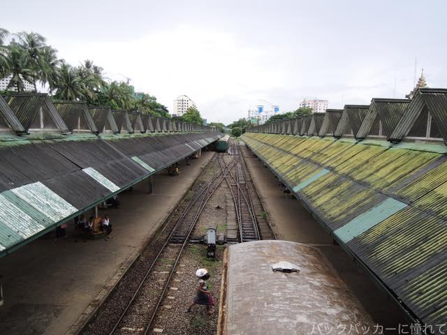 20161028212051 - ヤンゴン環状線でぐるっと一周3時間のゆるり列車旅