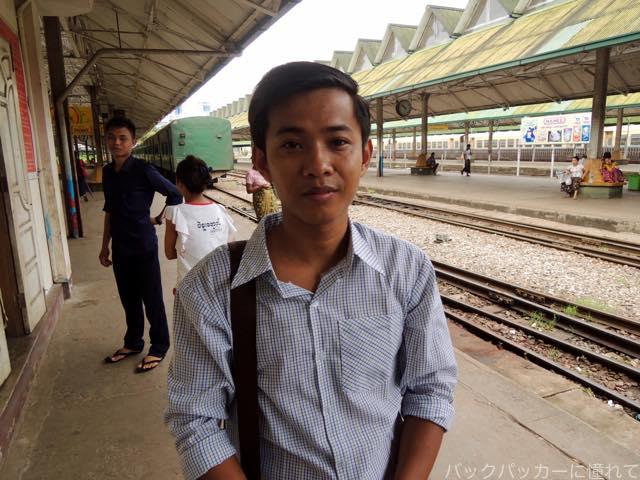 20161028213224 - ヤンゴン環状線でぐるっと一周3時間のゆるり列車旅