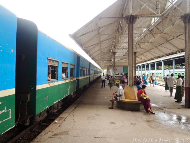 20161028213714 - ヤンゴン環状線でぐるっと一周3時間のゆるり列車旅