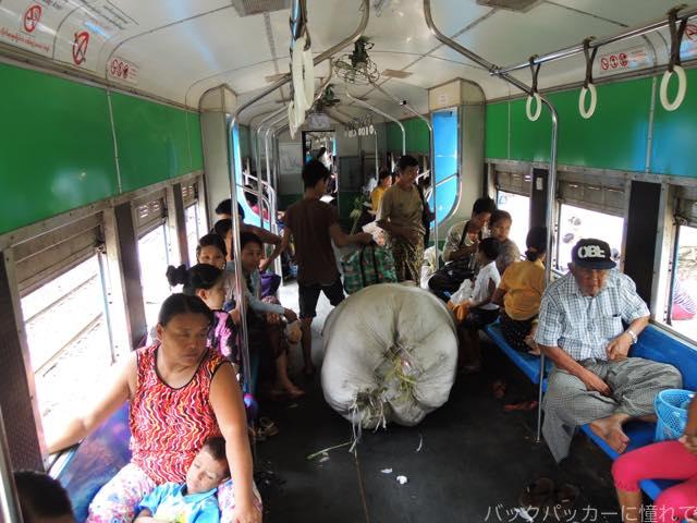 20161029074409 - ヤンゴン環状線でぐるっと一周3時間のゆるり列車旅