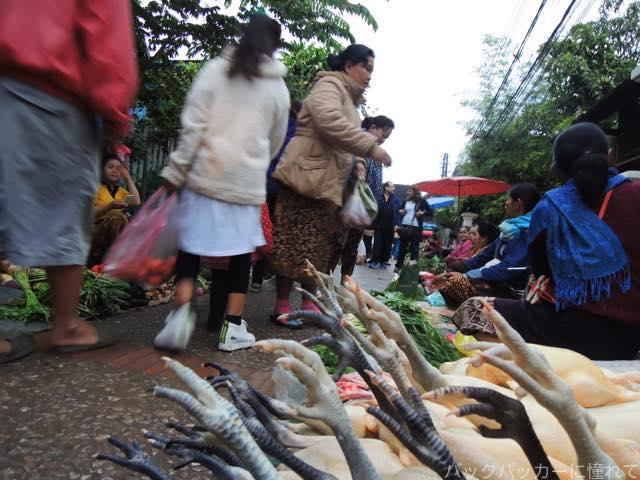 20170205094334 - 夜明け前から始まるルアンパバーンの早朝市場でちょっと一服