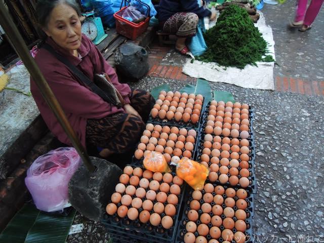 20170205094446 - 夜明け前から始まるルアンパバーンの早朝市場でちょっと一服