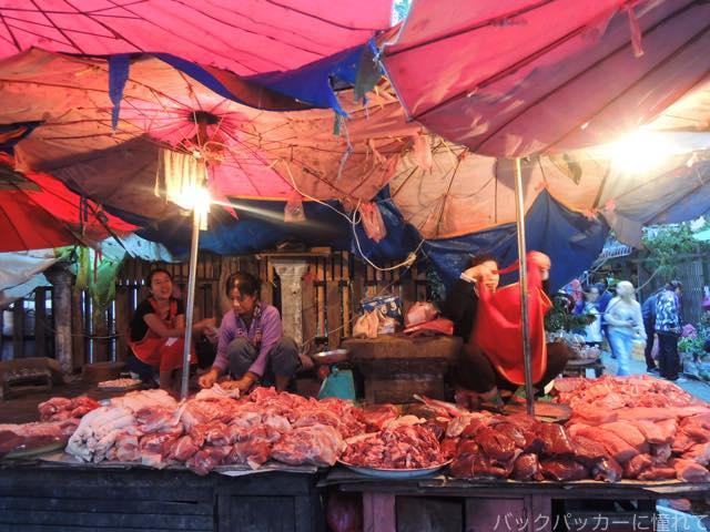 20170205095257 - 夜明け前から始まるルアンパバーンの早朝市場でちょっと一服