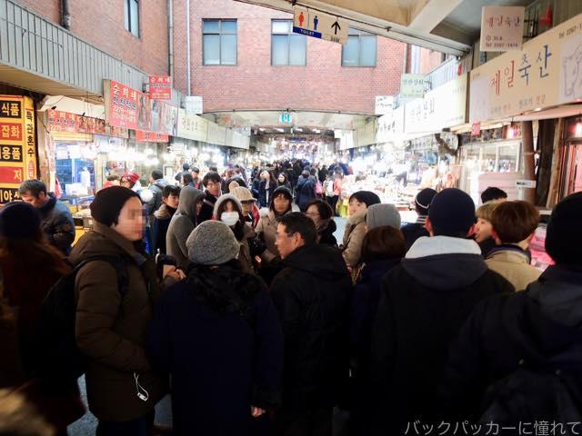 20170304081056 - 【韓国】ソウルの広蔵市場でユッケとレバ刺し三昧の旅