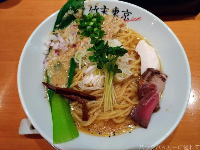 20180707144911 - 絶品!押上の竹末東京Premiumの鶏ホタテそばと黒トリュフ&チーズライスに感動