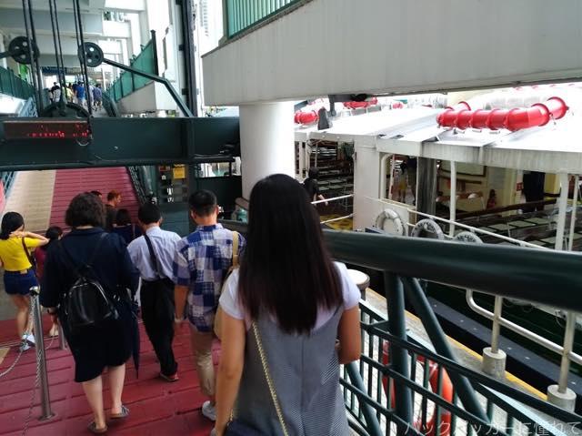 20180906191425 - 香港のスターフェリー|九龍サイドの尖沙咀と香港島を結ぶショートクルージング