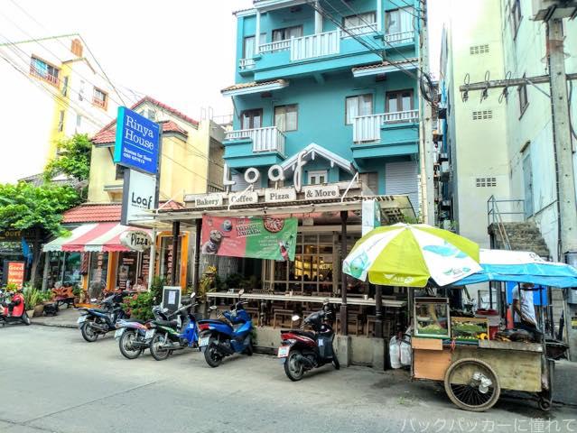 20181020085031 - パタヤで美味しいコーヒーが飲めるソイブッカオ付近のカフェ「Loaf Bakery & Cafe」