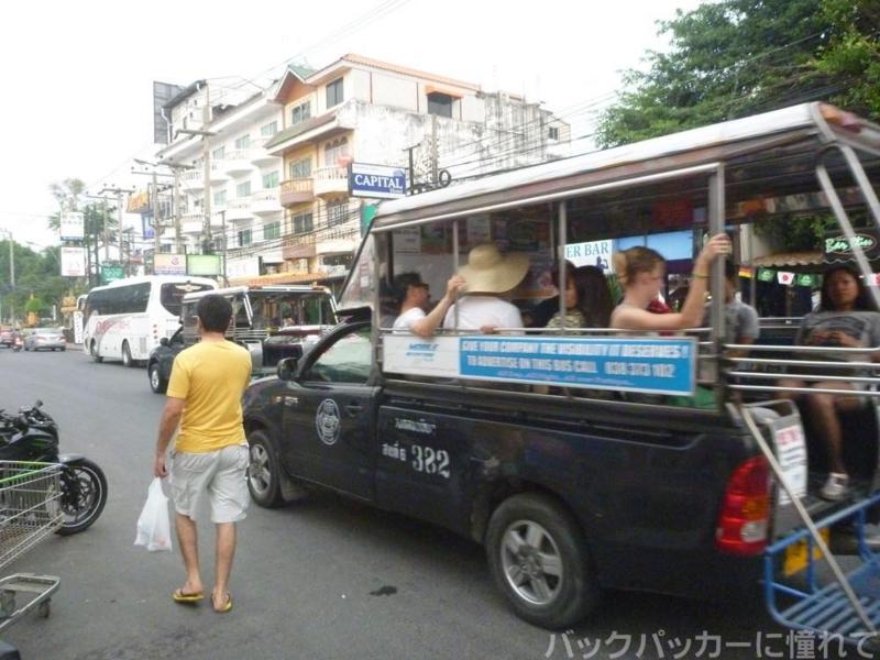 20181020134047 - パタヤの便利な巡回バス「ソンテウ」のルートと乗り方と運賃はコレだ!!