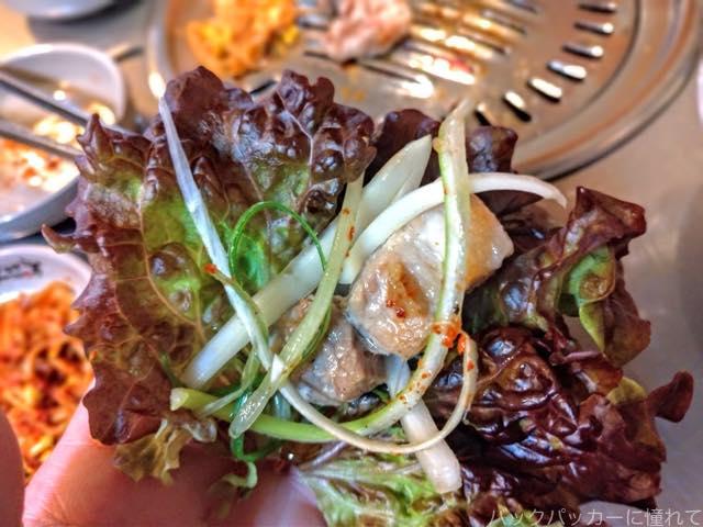 20181129221217 - 釜山の人気店トネヌ|サムギョプサルと味付けカルビでひとり飯