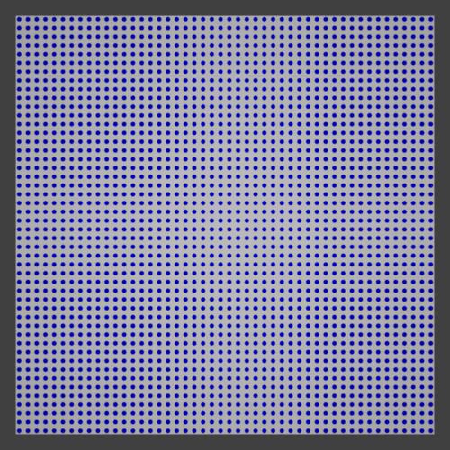Blender ドットパターン