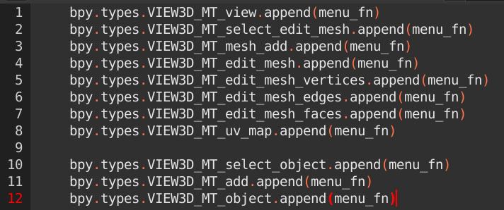 Blenderの自作アドオンでUIに追加する方法まとめ