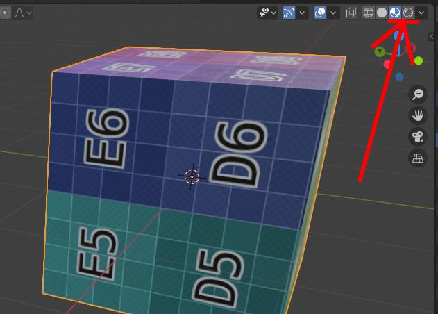 Blenderの3Dビューをマテリアルビューに変更する方法