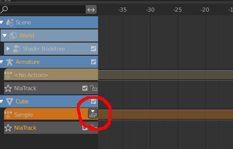 Blenderのノンリニアアニメーションでアクションをストリップ化する方法