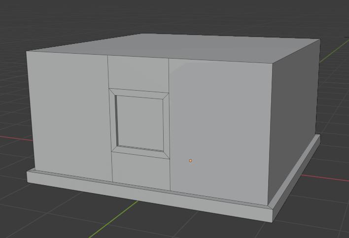 Blenderのbuilding_toolsで複数の窓を作成