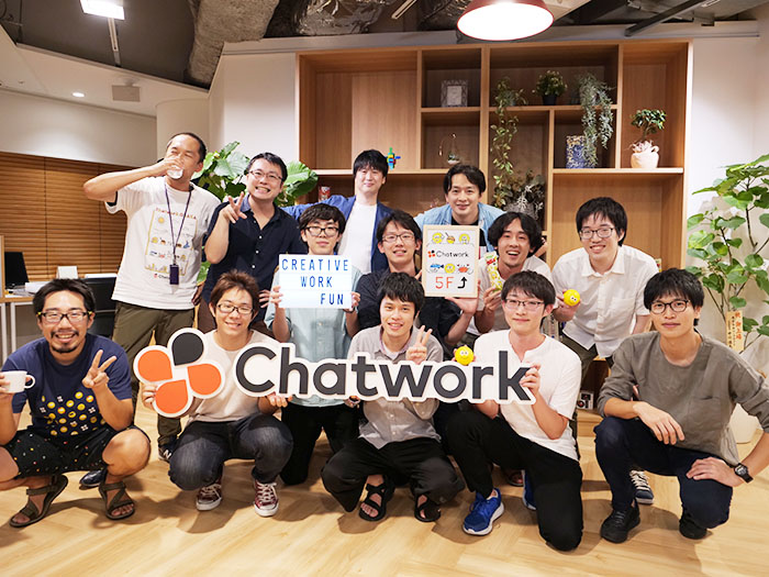 参加メンバーとChatwrokメンバーの集合写真