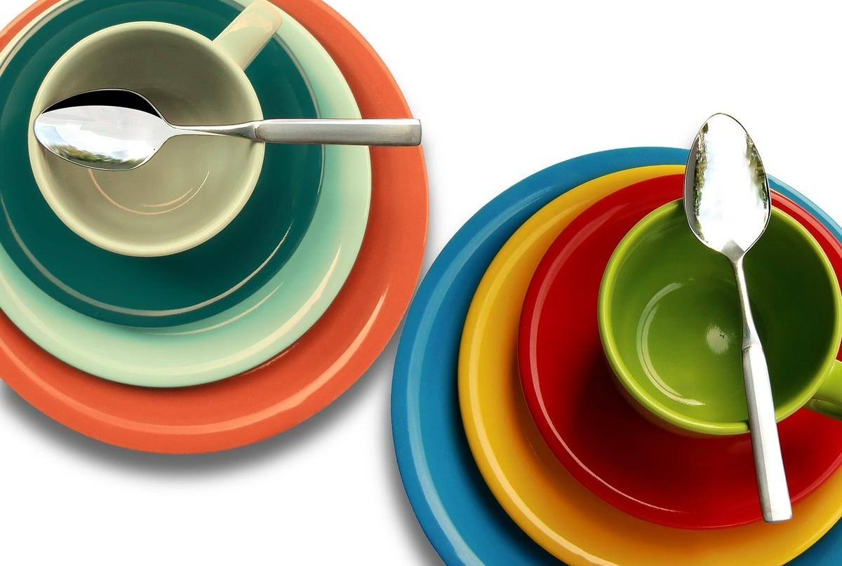 お皿の画像