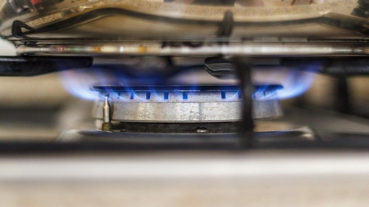 ガスバーナー 火の画像