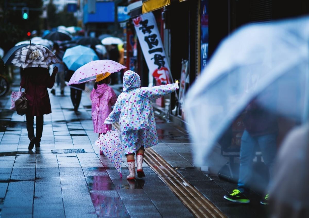 画像:雨 傘