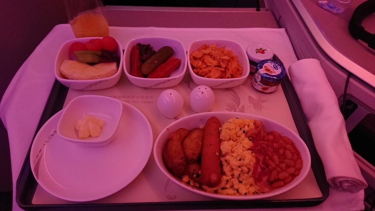 エア・チャイナ ビジネスクラス A350 Air China Business