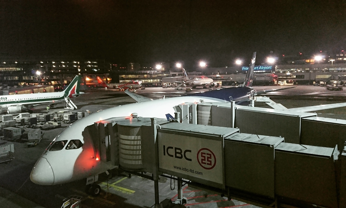 LATAM 航空 Frankfurt フランクフルト