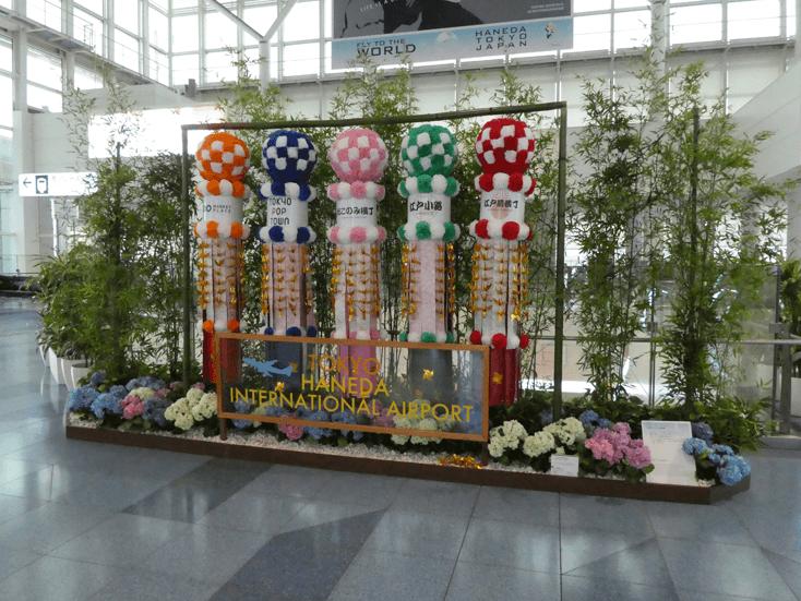 羽田空港国際線ターミナル3Fインフォメーション