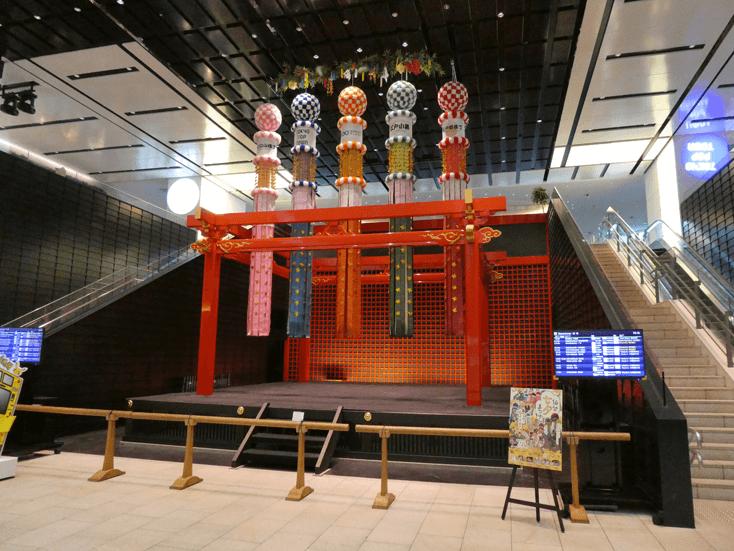 羽田空港国際線ターミナル4F 江戸舞台