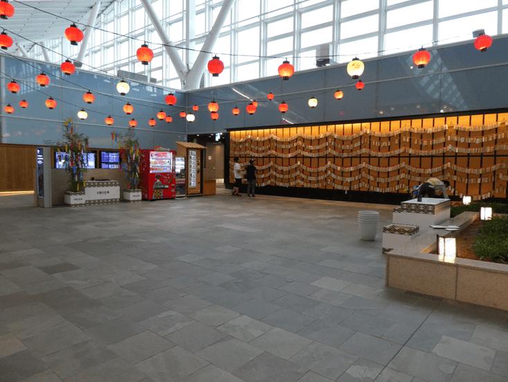 羽田空港国際線ターミナル5F お祭り広場