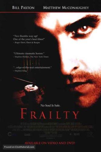 『フレイルティー 妄執』2001年