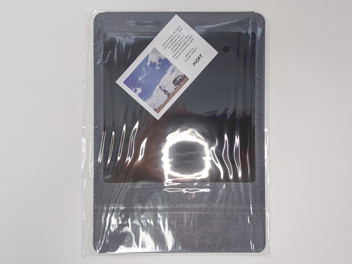 ビニール包装内にメッセージカード