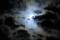 望月雲模様