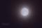 薄雲越しの小望月
