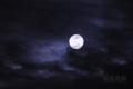 [月景色]雲照