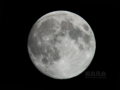 [天体]moon20100922中秋の名月
