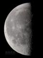 [天体]moon20101228
