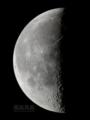 [天体]moon20110327